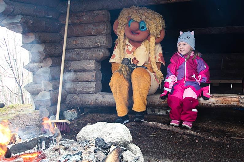 lasten talvi himoksella