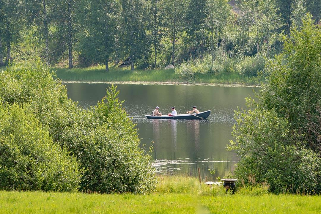 kalastus himoksella